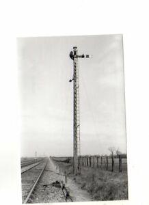 Rail Photo LNER M&GN Down Home signal Eye Green Cambridgeshire