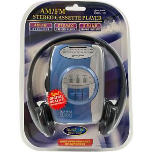 NEW Lenoxx Sound AM FM Stereo Cassette Player Preset Equalizer Model 1129