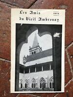 Las Amis de La Antigua Ambronay Fascículo De 1972