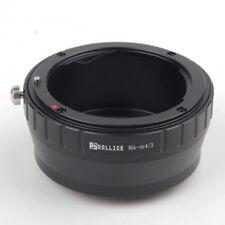 Camera Adapter For Nikon F Mount Lens to Micro Four Thirds M43 GM1 GX7 E-PL6