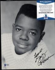 Gary Coleman d2010 signed 8x10 Photograph Autographed auto Different Strokes BAS