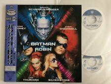 Batman & Robin with Obi Laser Disc Japan PILF-2505 LD