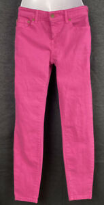 Vineyard Vines Womens Hot Pink Jeans Size 4 Casual Pants 30/28 Pockets MINT