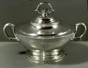 Tiffany Sterling Entree Dish                 c1870 CLASSICAL