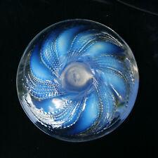 RENE LALIQUE Fleurons Art Deco French Opalescent Glass Coupe-Ouverte Bowl c1927
