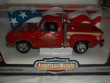 ERTL American Muscle 7385 Dodge Lil Red Truck 1978 Red 1/18 Mint & Boxed