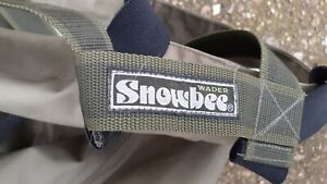 Chest waders snowbee size 11fb