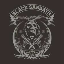 "Black Sabbath The Ten Year War 1st press limited numbered 8 vinyl LP / 2 7"" box"