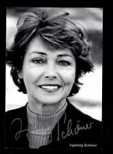 Ingeborg Schöner Foto Original Signiert ## BC 107899