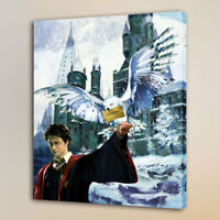 Print on Canvas Wall Art Decor Oil Painting Harry Potter The Flying Keys 16x22