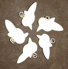 Bone Carved Bird Pendants, Quantity Of 50 - Craft/Necklace/Beading/Je welry