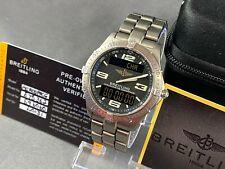Breitling Aerospace E75362 Titanium on Breitling Titanium Bracelet Full Set