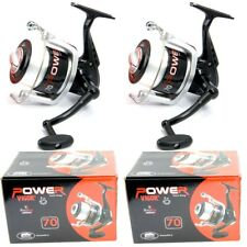 2 NEW LARGE LINEAEFFE SEA FISHING VIGOR POWER 70 BEACH PIER REELS AND LINE REEL