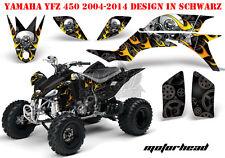 AMR Racing DECORO GRAPHIC KIT ATV Yamaha YFZ 450 04-14 yfz450r 09-16 Motorhead B