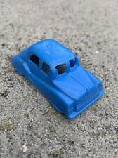 VINTAGE MOHAWK BLUE POLICE PLASTIC TOY SADAN CAR