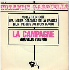 SUZANNE GABRIELLO Votez Hein bon 1967 Nino Ferrer Chanteuse Yé-Yé parodie BIEM