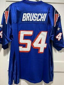 Large or X Large Teddy Bruschi 90s Patriots Jersey