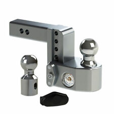 Weigh Safe Drop Hitch w/Tongue Weight Scale 4″Drop Length 2″ Shaft Size #WS4-2