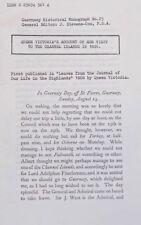 Queen Victorias Rechnung Besuch Kanalinseln 1846-Plakette-mint