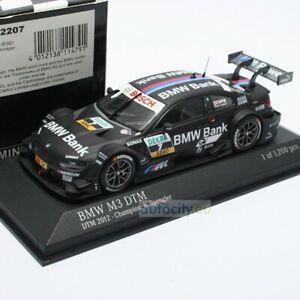 MINICHAMPS BMW M3 DTM 2012 - CHAMPION B. SPRENGLER 410122207