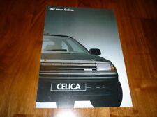 Toyota Celica Prospekt 12/1985