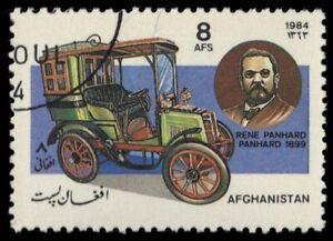 "AFGHANISTAN 1099 - Classic Automobiles ""Panhard Landau"" (pf61826)"