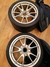 Porsche 997 Gt3 Rs Wheels And unused Tyres