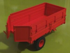 Petite benne rouge en kit,ART01407, échelle1/32,ARTISAN32