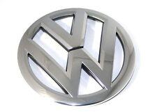 VW-Emblem für Kühlergrill Original VW Caddy Passat Touran Zeichen Chrom/Schwarz