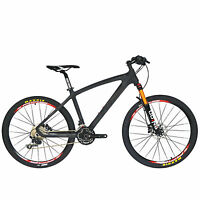 BEIOU T800 Carbon Fiber Mountain Bike SHIMANO M610 DEORE 30 Speed RT 26 CB024A