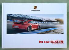 Porsche 911 GT3 RS 2015 - Hardcover Prospekt Brochure - 94 Seiten