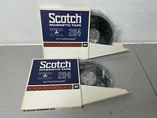 More details for scotch magnetic tapes x 2 3m 204 reel to reel tapes 180m 600ft brand new sealed