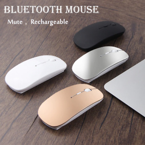 Rechargeable Bluetooth Mouse For Apple Macbook air Huawei Xiaomi Laptop notebook