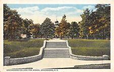 C52/ Greensboro North Carolina NC Postcard c1910 College for Women Stairs