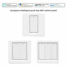 Smart WiFi Wall Light Switch Button Remote Voice Control For Alexa Google Home