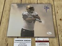 Cam Jordan Autographed/Signed 8x10 Photo New Orleans Saints Cameron