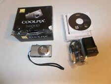 Nikon COOLPIX S6000 14.2MP Digital Camera Champagne silver