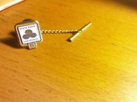 Vintage STATE FARM INSURANCE Company 5 YEAR Enameled Service Lapel Tie Pin 10k