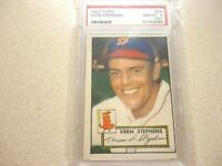 1952 TOPPS VERN STEPHENS BOSTON RED SOX PSA GRADED 8 NM-MT(MC)