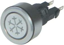 Air Conditioning Push Button Switch Blue Illumination For Vans Jeep MPV