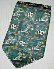 Vintage Andy Capp 1997 Espejo grupo periódicos para hombres Informal Gracioso corbata de cómic