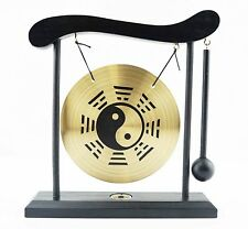 Zen Table Gong Yin Yang Feng Shui Meditation Desk Bell Home Decor Gift