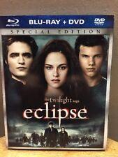 The Twilight Saga: Eclipse (Blu-ray + DVD, 2010, Double Sided) Kristin Stewart