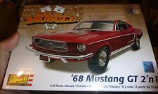 REVELL 1968 BILL LAWTON 2N1 MUSTANG Model Car Mountain Kit 1/25 FS