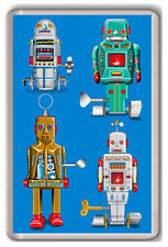 SPACE ROBOTS FRIDGE MAGNET NEW IMÁN NEVERA