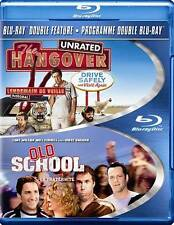 Hangover/Old School (Blu-ray Disc, 2013, 2-Disc Set)  R-Rated  BRAND NEW