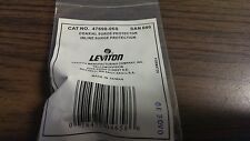 Leviton Coaxial inline surge protector - 5000A 0.3db Loss @ 5-1000MHz- 47690-06S