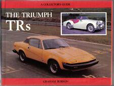 Triumph trs mrp collectors guide par graham robson TR1, 2, 3, 4, 4A, 5, 6, 7 & 8