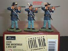 Britains 17578 Bucktails la guerra civile americana metallo giocattolo soldato Figure Set