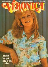 VERONICA 1976 nr. 37  - ANITA MEYER / ROBERT WAGNER / RIJK DE GOOIJER / TOP 40